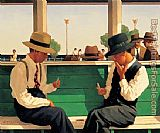 Jack Vettriano The Duellists painting