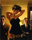 Jack Vettriano The First Audition painting