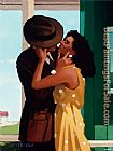 Jack Vettriano The Last Great Romantic painting