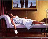 Jack Vettriano The Letter painting