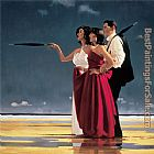 Jack Vettriano The Missing Man I painting