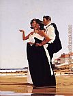 Jack Vettriano The Missing Man painting