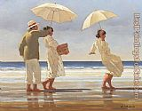 Jack Vettriano The Picnic Party painting