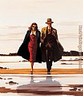 Jack Vettriano The Road to Nowhere painting