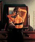 Jack Vettriano The Rooms of a Stranger painting