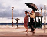 Jack Vettriano The Shape Of Things To Come painting