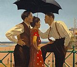 Jack Vettriano The Tourist Trap painting