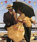 Jack Vettriano The Unorthodox Approach painting