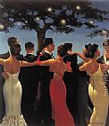 Jack Vettriano Waltzers painting