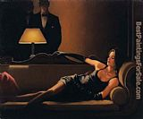 Jack Vettriano along game a Spider painting