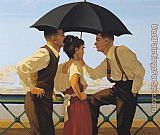 Jack Vettriano the_Tourist_trap painting
