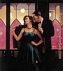 Jack Vettriano words of Wisdom painting