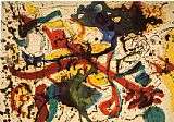 Abstract paintings - Untitled by Jackson Pollock