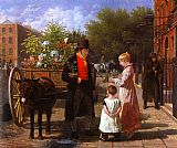 Jacques Laurent Agasse The Flower Seller painting