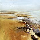 Jan Groenhart Remembering Terschelling painting