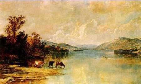 Jasper Francis Cropsey Distant Foothills