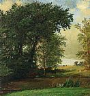 Jasper Francis Cropsey Banks of the River painting