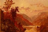Jasper Francis Cropsey In The Highlands Of The Hudson painting