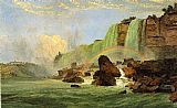 Jasper Francis Cropsey Niagara Falls with View of Clifton House painting