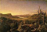 Jasper Francis Cropsey View of Greenwood Lake, New Jersey painting