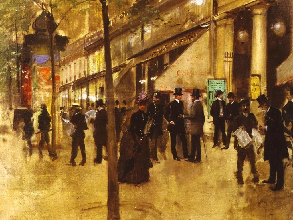 Jean Beraud The Theatre des Varietes