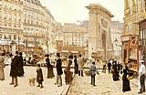 april in paris Framed Prints - Le Boulevard St. Denis Paris