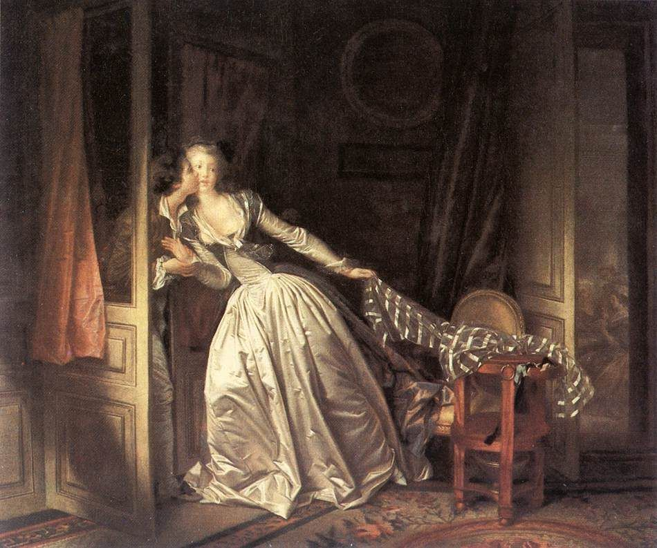 Jean Fragonard The Stolen Kiss