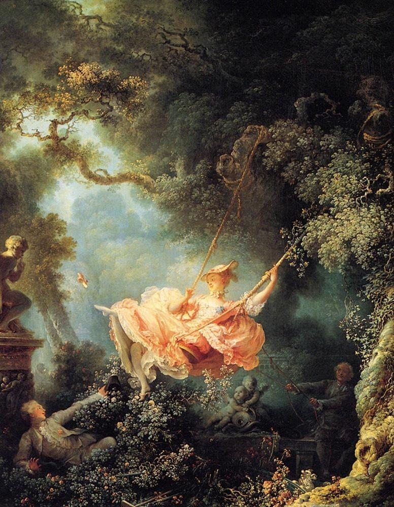 Jean Fragonard The Swing 1767