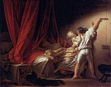 Jean-Honore Fragonard the lock painting
