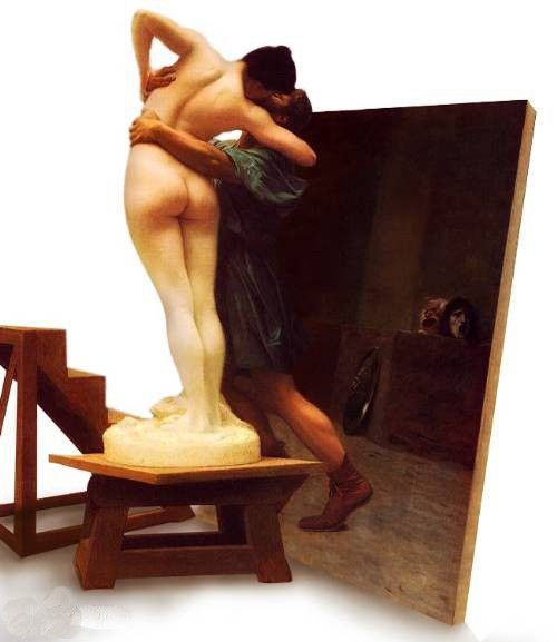 Jean-Leon Gerome Pygmalion and Galatea I