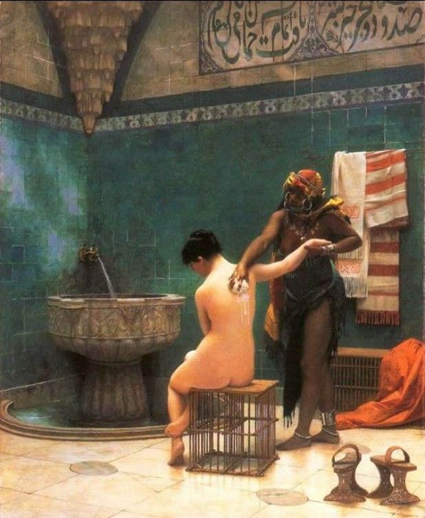 Jean-Leon Gerome The Bath
