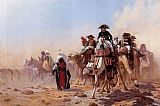 Jean-Leon Gerome Napoleon and His General Staff painting