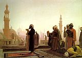 Jean-Leon Gerome Prayer in Cairo painting