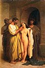 Jean-Leon Gerome Purchase Of A Slave painting