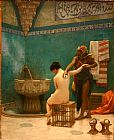 Jean-Leon Gerome The Bath painting