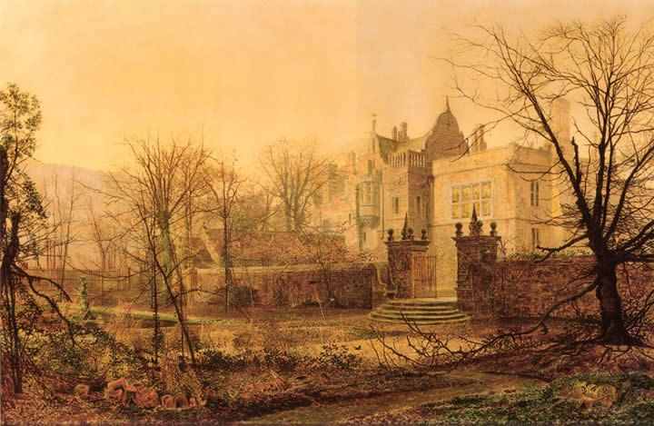 John Atkinson Grimshaw Knostrop Hall Early Morning