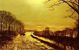 John Atkinson Grimshaw Wharfedale painting
