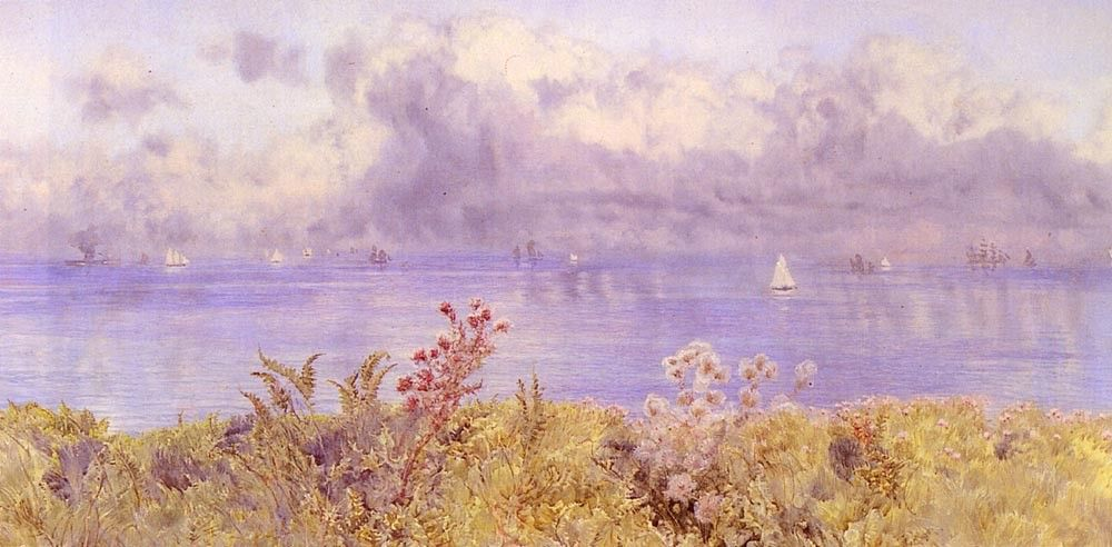 John Brett Bristol Channel From The Welsh Coast