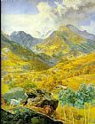 John Brett The Val d Aosta painting