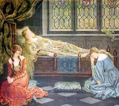 John Collier Sleeping Beauty