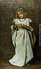john collier Paintings - The Child Bride