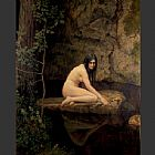 john collier Paintings - The Water Nymph