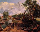 Landscape paintings - Flatford Mill by John Constable