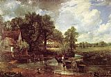 Landscape paintings - The Hay Wain by John Constable