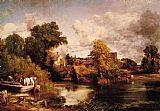 John Constable The White Horse painting