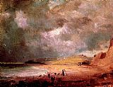 John Constable Weymouth Bay painting