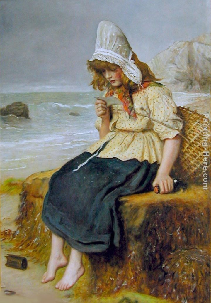 John Everett Millais Message from the Sea