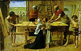 John Everett Millais Christ in the House of His Parents painting