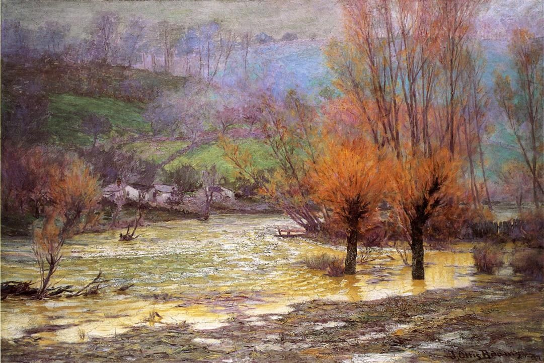John Ottis Adams November Freshet