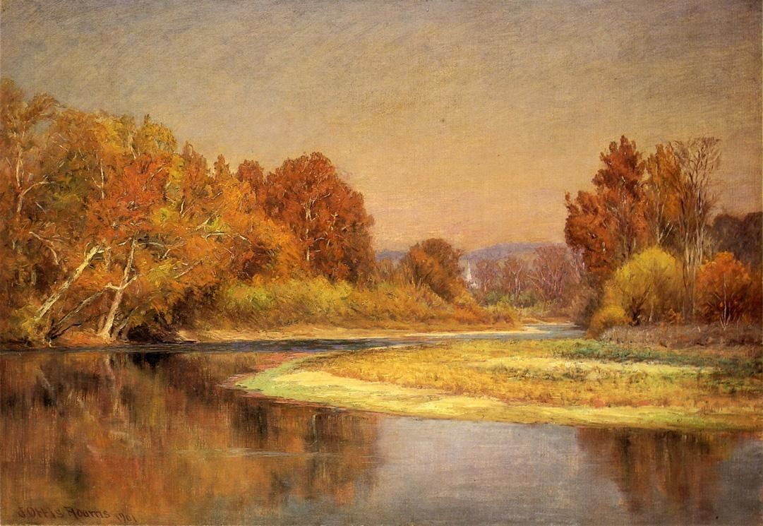 John Ottis Adams Sycamores on the Whitewater